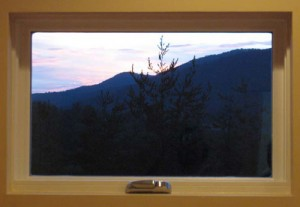 Greeneville Custom Home Modern Trimless Window