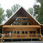 Greeneville Custom Home A-Frame