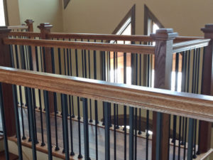 Mountain Home Detail Banisters